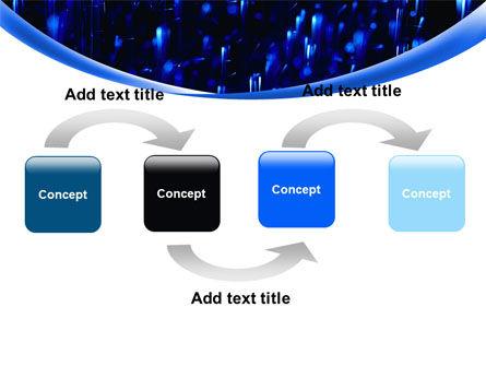 Falling Rain PowerPoint Template, Slide 4, 08059, Nature & Environment — PoweredTemplate.com