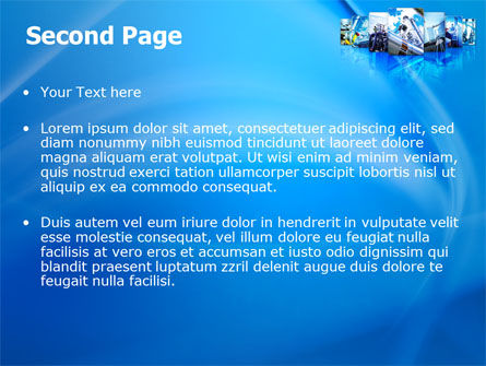 Pipe Welding PowerPoint Template, Slide 2, 08060, Utilities/Industrial — PoweredTemplate.com