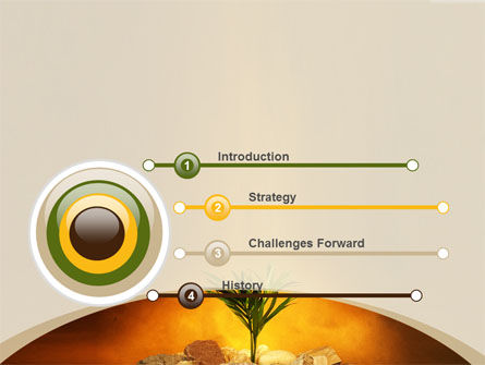Tough Sprout PowerPoint Template, Slide 3, 08062, Business Concepts — PoweredTemplate.com