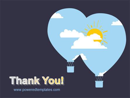 Modern Hot Air Balloon Free PowerPoint Template Slide 20