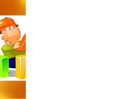 Building a House PowerPoint Template, Slide 3, 08070, Construction — PoweredTemplate.com