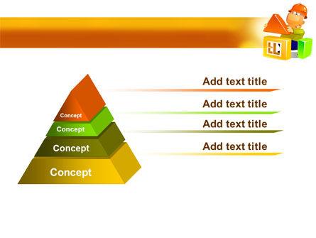 Building a House PowerPoint Template, Slide 4, 08070, Construction — PoweredTemplate.com