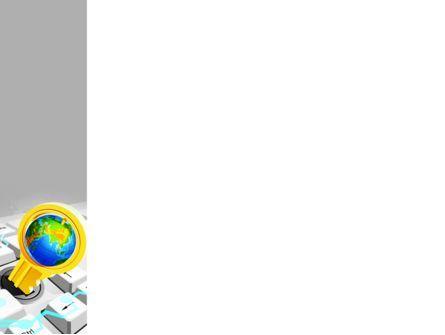 Keyboard Key PowerPoint Template, Slide 3, 08072, Computers — PoweredTemplate.com