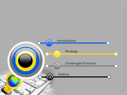 Keyboard Key PowerPoint Template Slide 3