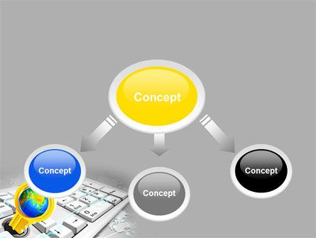 Keyboard Key PowerPoint Template Slide 4