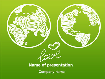Peace Love PowerPoint Template