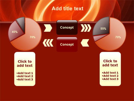Red Spiral PowerPoint Template Slide 11