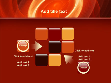 Red Spiral PowerPoint Template Slide 16
