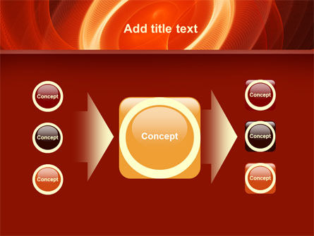 Red Spiral PowerPoint Template Slide 17