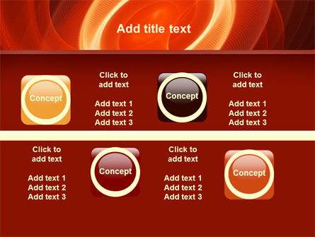 Red Spiral PowerPoint Template Slide 19