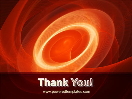 Red Spiral PowerPoint Template Slide 20