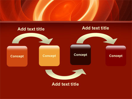 Red Spiral PowerPoint Template Slide 4