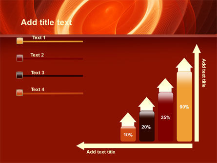 Red Spiral PowerPoint Template Slide 8