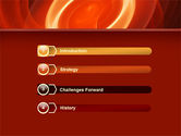 Red Spiral PowerPoint Template#3
