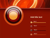 Red Spiral PowerPoint Template#9