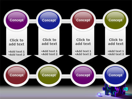 Jigsaw House PowerPoint Template Slide 18