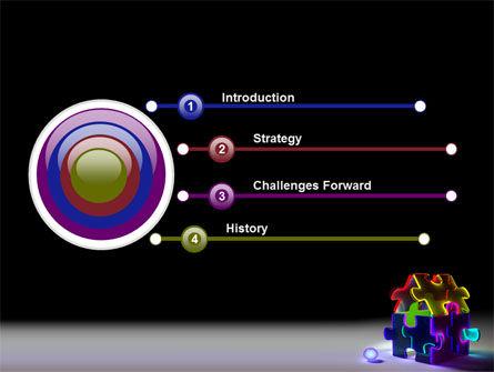 Jigsaw House PowerPoint Template, Slide 3, 08075, Consulting — PoweredTemplate.com