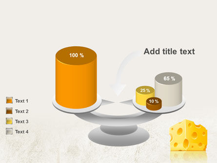 Piece of Cheese PowerPoint Template Slide 10