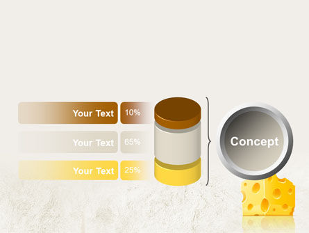Piece of Cheese PowerPoint Template Slide 11