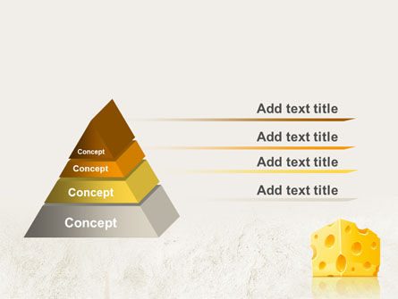 Piece of Cheese PowerPoint Template Slide 12