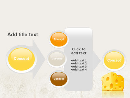 Piece of Cheese PowerPoint Template Slide 17