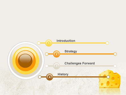 Piece of Cheese PowerPoint Template Slide 3