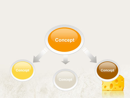 Piece of Cheese PowerPoint Template Slide 4