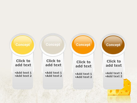Piece of Cheese PowerPoint Template Slide 5