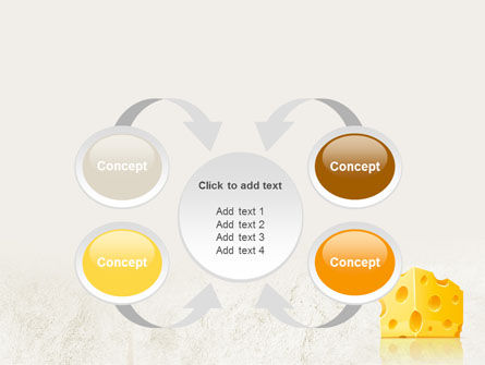 Piece of Cheese PowerPoint Template Slide 6