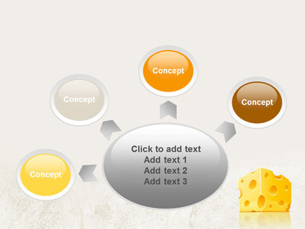 Piece of Cheese PowerPoint Template Slide 7