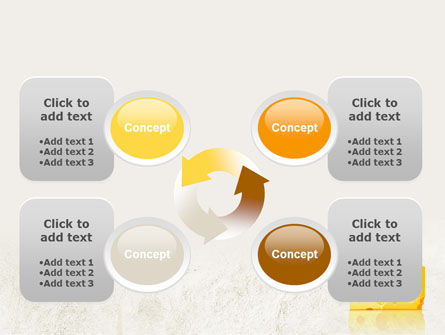 Piece of Cheese PowerPoint Template Slide 9