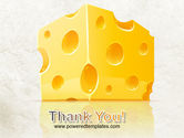 Piece of Cheese PowerPoint Template#20