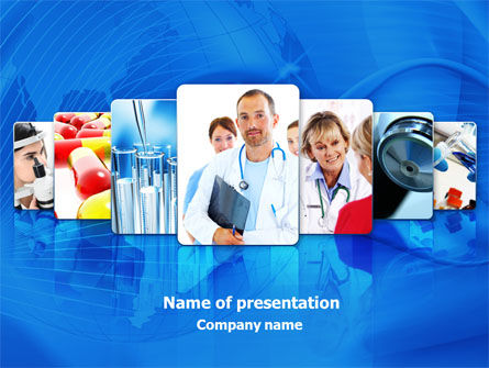 Medical: Medical Service PowerPoint Template #08079