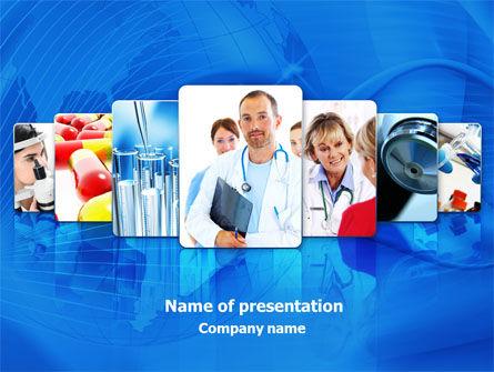 Medical: Plantilla de PowerPoint - servicio médico #08079