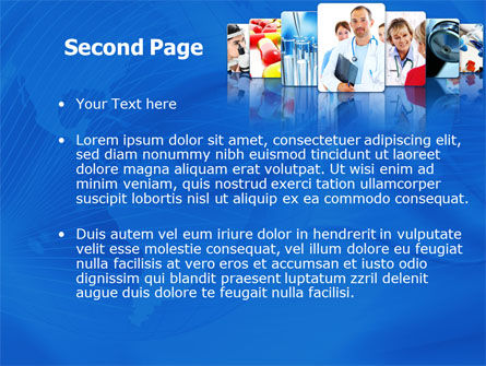 Medical Service PowerPoint Template, Slide 2, 08079, Medical — PoweredTemplate.com