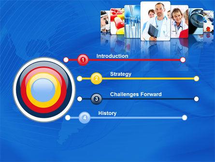 Medical Service PowerPoint Template, Slide 3, 08079, Medical — PoweredTemplate.com