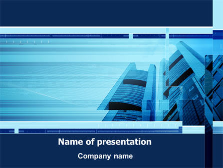 Business Building Theme PowerPoint Template