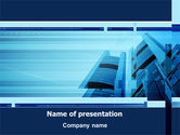 Business: Business Building Theme PowerPoint Template #08081