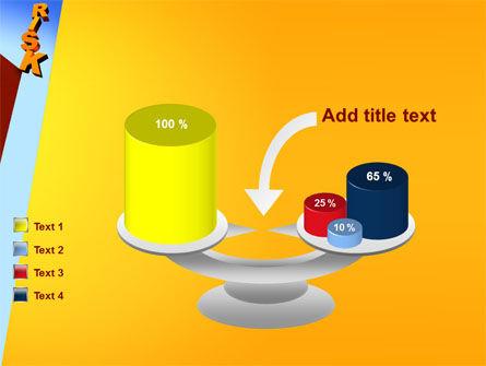 Risk PowerPoint Template Slide 10