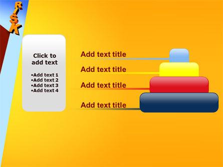 Risk PowerPoint Template Slide 8