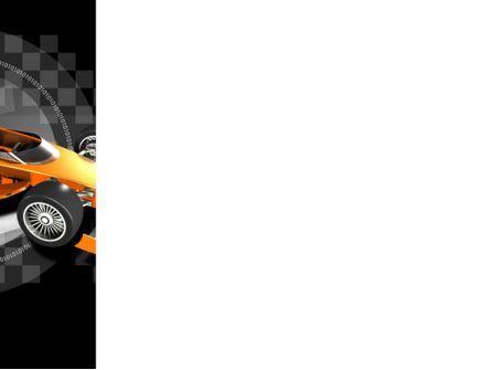 Racer PowerPoint Template, Slide 3, 08084, Sports — PoweredTemplate.com