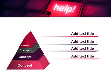 Help Button PowerPoint Template, Slide 4, 08085, Consulting — PoweredTemplate.com