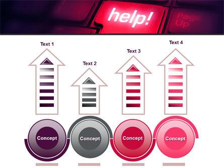 Help Button PowerPoint Template Slide 7