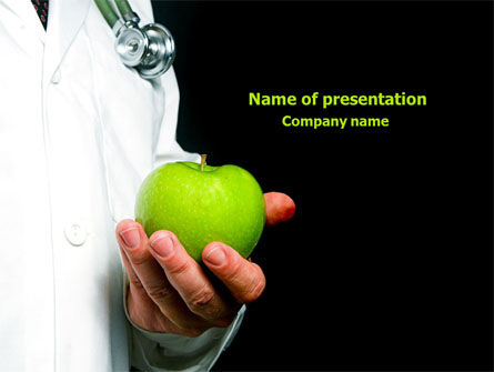 Medical: Anosia PowerPoint Template #08086