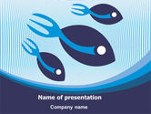 Business: Fish PowerPoint Template #08087