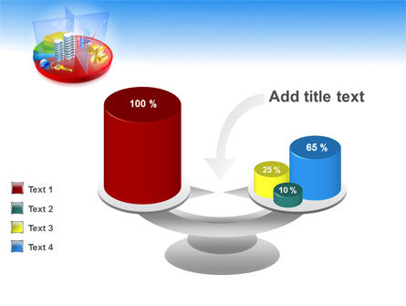 Business Pie Chart PowerPoint Template Slide 10