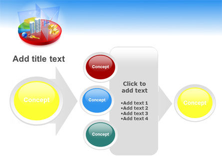 Business Pie Chart PowerPoint Template Slide 17