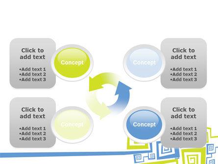 Qubic Decor PowerPoint Template Slide 9