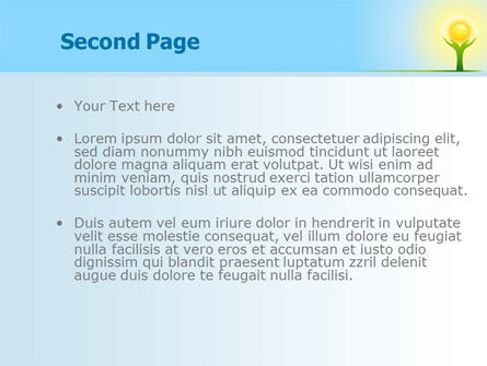 Sun Light PowerPoint Template, Slide 2, 08094, Religious/Spiritual — PoweredTemplate.com