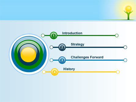 Sun Light PowerPoint Template, Slide 3, 08094, Religious/Spiritual — PoweredTemplate.com